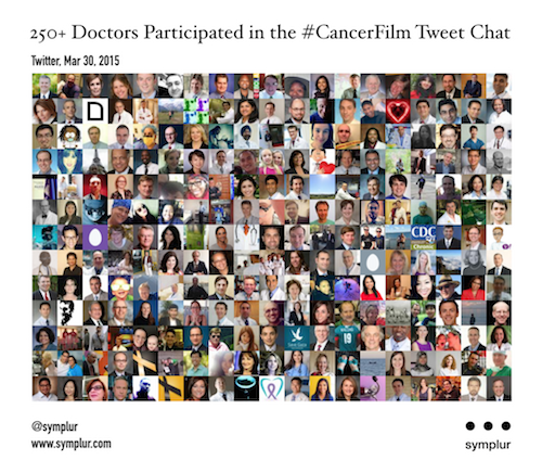 Unprecedented conversation on cancer film